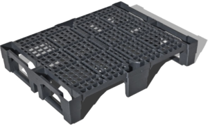 Ejemplo de un palet de plástico GreenBoxSL