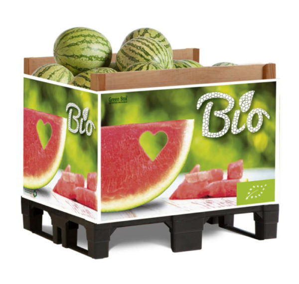 green box palets campaña sandia melon