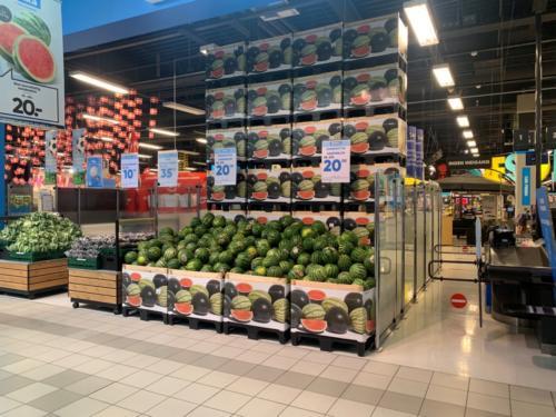 supermercado exposición