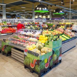 Supermercados exposición GB